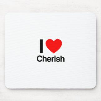 i love cherish mousepad