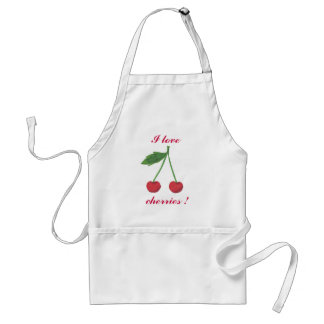 I love cherries ! apron