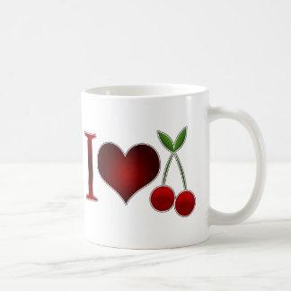 I Love Cherries Coffee Mug
