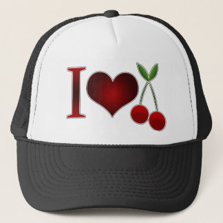 I Love Cherries Trucker Hat