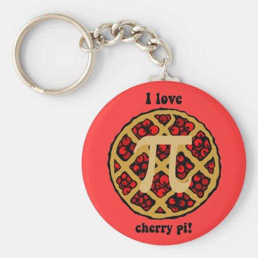 I love cherry pi key chains