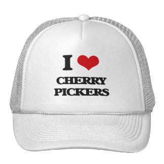 I love Cherry Pickers Mesh Hats