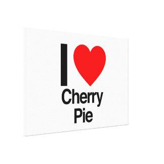 i love cherry pie canvas prints