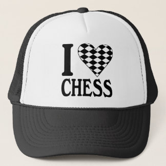I Love Chess Hat