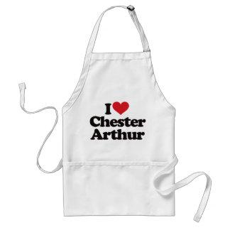 I Love Chester Arthur Apron