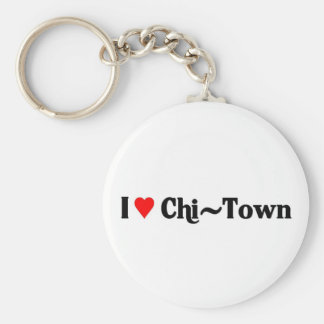 I love Chi-Town Key Ring