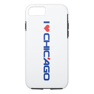 I Love Chic'ago Apple iPhone 7, Tough Phone Case