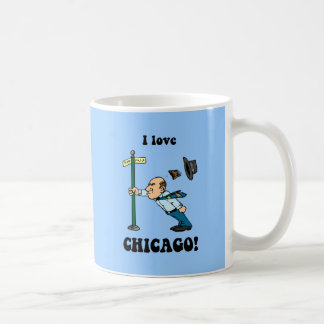 I love Chicago Basic White Mug