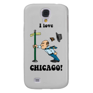 I love Chicago Galaxy S4 Cases