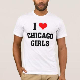 I love Chicago Girls T-Shirt