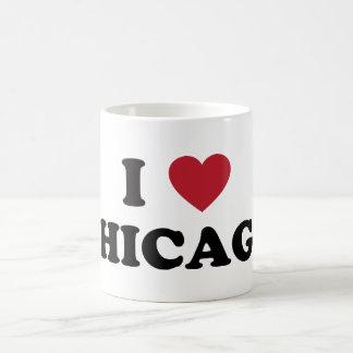I Love Chicago Illinois Mugs