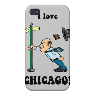 I love Chicago iPhone 4 Covers