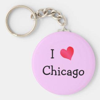 I Love Chicago Key Ring