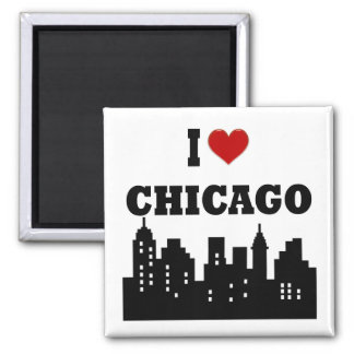 I Love Chicago Magnet