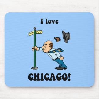 I love Chicago Mouse Pads