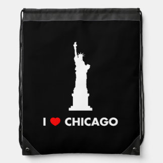 I Love Chicago - Statue of Liberty Backpacks