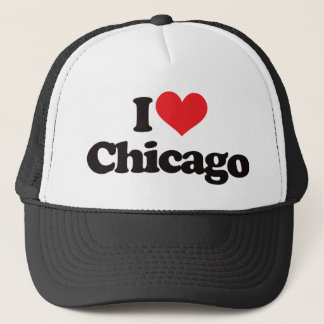 I Love Chicago Trucker Hat