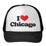 I Love Chicago Trucker Hats