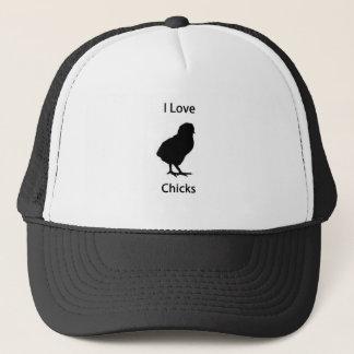 I love chicks trucker hat