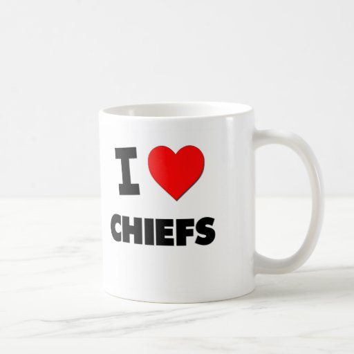 I love Chiefs Mugs