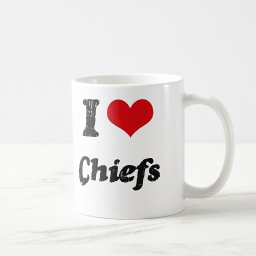 I love Chiefs Coffee Mugs