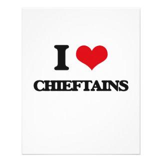 I love Chieftains 11.5 Cm X 14 Cm Flyer