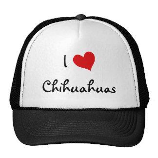 I Love Chihuahuas Hat