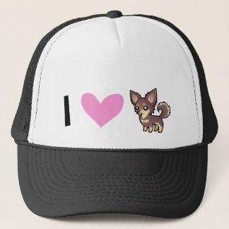 I Love Chihuahuas (long coat) Trucker Hat