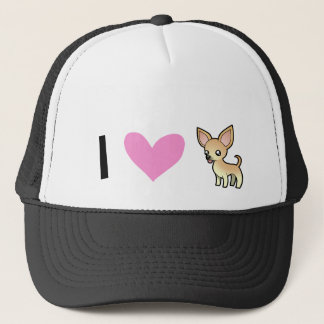 I Love Chihuahuas (smooth coat) Trucker Hat