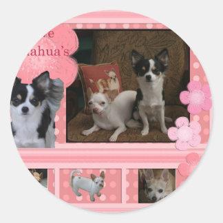 I love Chihuahuas Stickers
