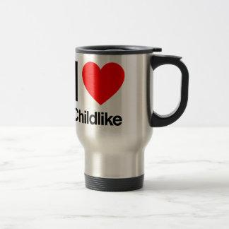 i love childlike mug