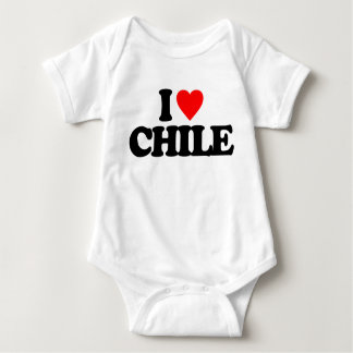 I LOVE CHILE BABY BODYSUIT