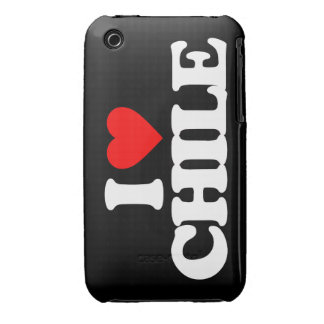 I LOVE CHILE iPhone 3 COVERS