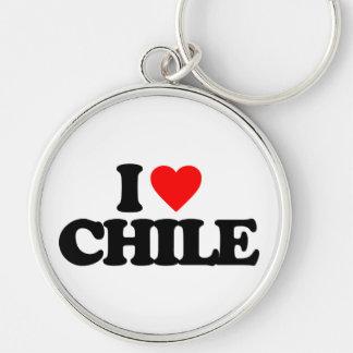 I LOVE CHILE KEYCHAINS