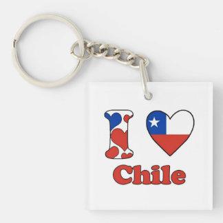 I love Chile Sleutelhangers