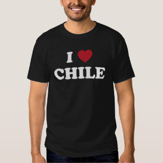 I Love Chile T Shirts