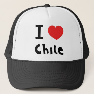 I love chile trucker hat