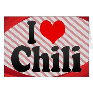 I love Chili Cards