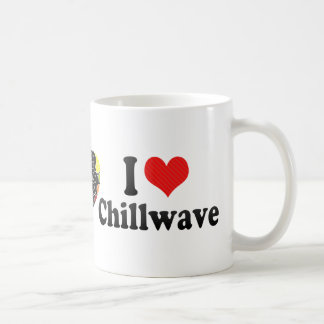 I Love Chillwave Basic White Mug