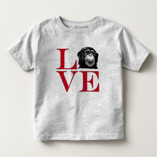 I Love Chimps - Light Colored Tee