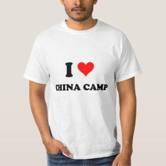 I Love China Camp Tee Shirts