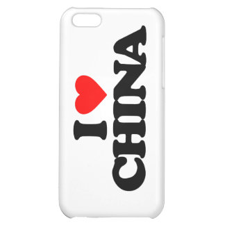 I LOVE CHINA iPhone 5C COVER