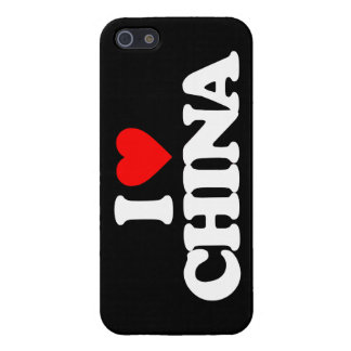 I LOVE CHINA iPhone 5/5S COVER