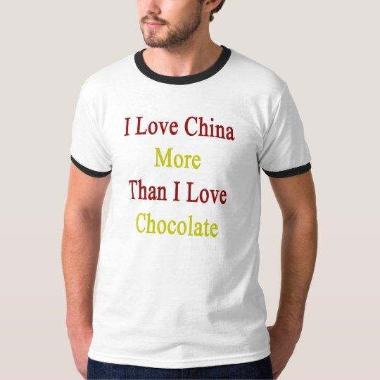 I Love China More Than I Love Chocolate