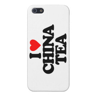 I LOVE CHINA TEA CASE FOR iPhone 5/5S