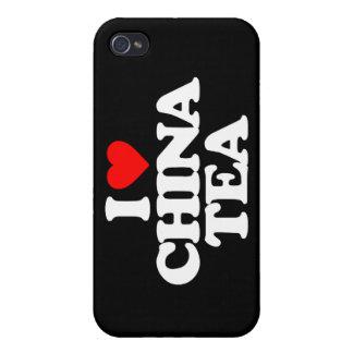 I LOVE CHINA TEA iPhone 4/4S COVERS