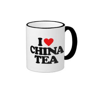 I LOVE CHINA TEA COFFEE MUG