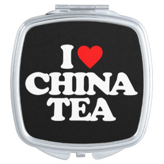 I LOVE CHINA TEA MIRRORS FOR MAKEUP