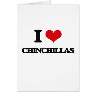 I love Chinchillas Cards