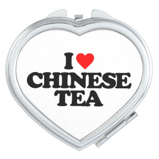 I LOVE CHINESE TEA TRAVEL MIRRORS